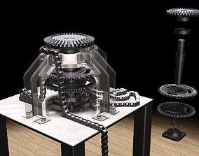 3D model Vertical Transmission