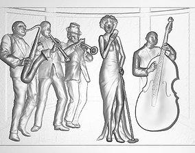 Jazz Band 3D printable model