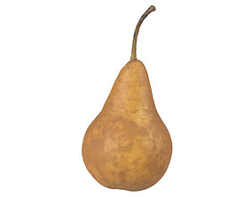 Photorealistic Pear 3D Scan 7