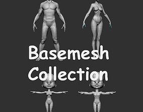 3D model Base Mesh Collection
