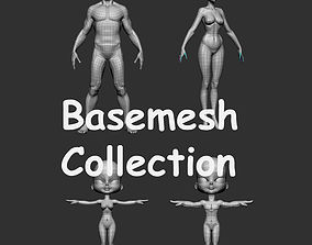 3D model Base Mesh Collection