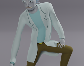 Rick and morty 3D model