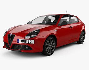 Alfa Romeo Giulietta 2016 3D model