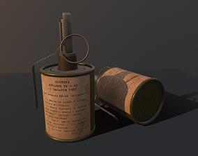 game-ready RG-42 Hand Grenade - GameReady Model
