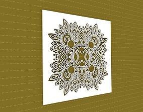 geometric 3D Mandala