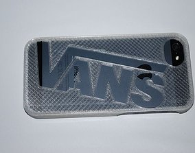 Vans iphone 5 case 3D print model