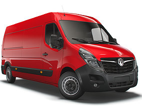 3D Vauxhall Movano 3500 L3H2 UK-spec 2020