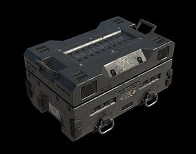 Crate high 3D
