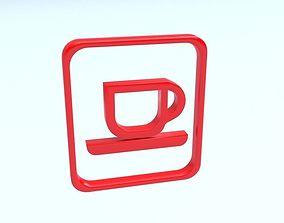 Logo cup 3D model