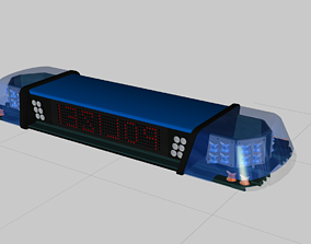 Audi Rs6 Avant 2020 simple interior racing 3D