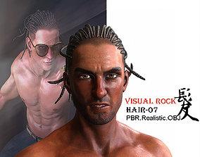 3D model Visual Rock - Dreadlock