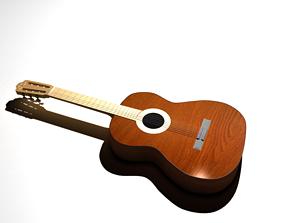 3D Acoustic Spanish Guitar