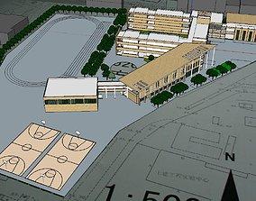 Region-City-School 128 3D