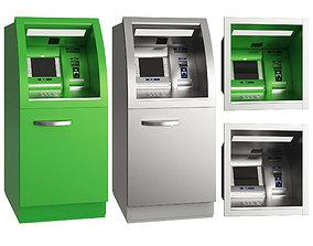 ATM machine outer 3D