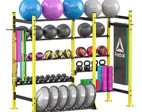3D Sport rack equipment