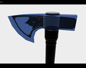 3D asset realtime Tomahawk Axe