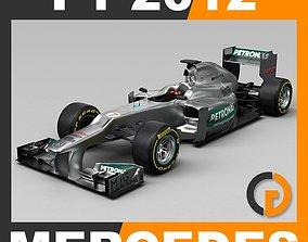 F1 2012 Mercedes W03 AMG Petronas 3D