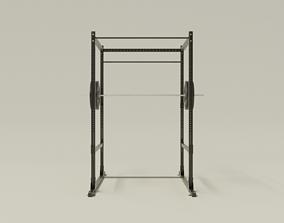 Gym Equipment 3D model PBR