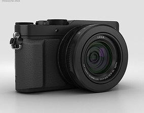 3D Panasonic Lumix DMC-LX100 Black