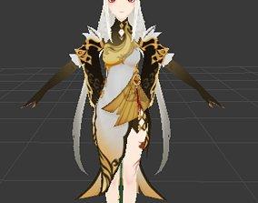 Ningyoung 3D model rigged