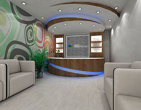 3D Reception counter design