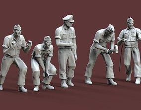 3D printable model mauser German soldiers