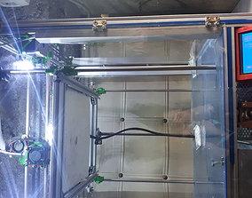 Led light holder for 3d printer