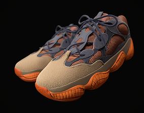YEEZY 500 - Enflame - Kanye West - Streetwear 3D asset