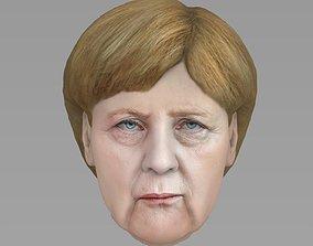 Angela Merkel 3D model