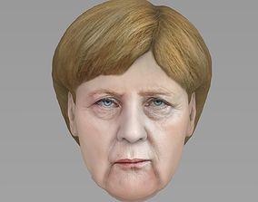 3D model Angela Merkel