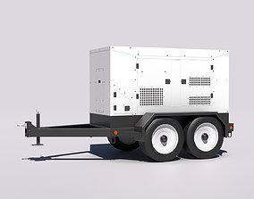 Industrial Generator 3D asset