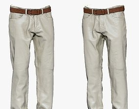 001286 white jeans 3D asset