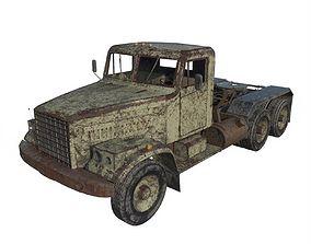 3D model Abandoned Truck 07