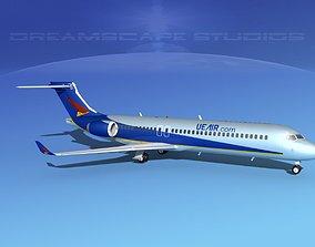 3D model Comac ARJ21-700 Chengdu Airlines