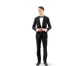3D Elegant Man in Tuxedo EMan0312-HD2-O07P01-S
