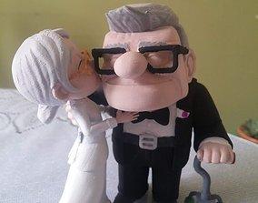 3D printable model Carl and Ellie