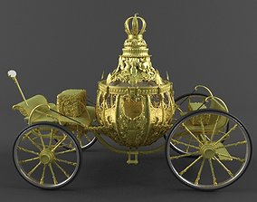 3D model Pumpkin Carriage