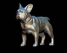 pet 3D printable model French bulldog