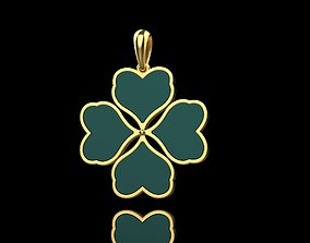 irish Clover pendant 3D print model