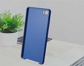Huawei P8 lite TPU case 3D print model