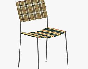 3D model Tartan Chair