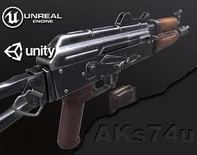 AKs 74u 3D model