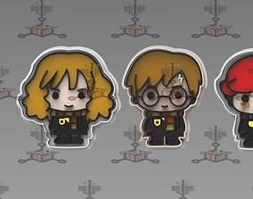 cookie cutter Harry potter Hermione and 3D print model