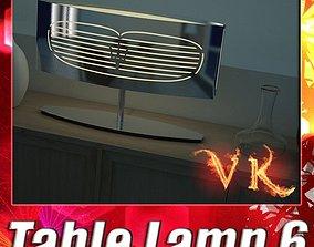 Modern Table Lamp 06 Maserati 3D