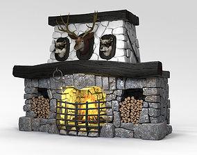 Fireplace hunt 3D