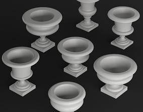 3D model Classic vase set 1