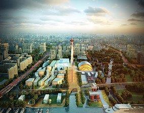 tower Port 001 3D model