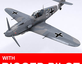 Messerschmitt BF109 F1 3D model