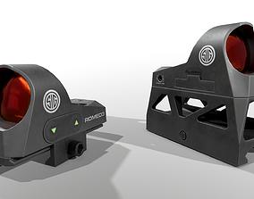 3D model Sig Sauer Romeo3 Miniture Reflex Sight