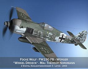 Focke Wulf - FW190 F8 - SG3 3D model